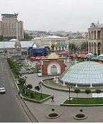 Kiev Sightseeings - Independance Square in Kyiv