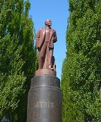 Tour of Soviet times sights in Kiev - inclusive centrally located Lenin Statue